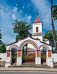 Poewangelicki kości&oacute;ł Matki Boskiej Częstochowskiej w Sejnach, Polska<br /> Poewangelic church of Our Lady of Częstochowa in Sejny, Poland