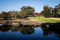 A general view of the lake on the 9th hole during previews ahead of the Magical Kenya Open presented by ABSA, Karen Country Club, Nairobi, Kenya. 13/03/2019<br /> Picture: Golffile | Phil Inglis<br /> <br /> <br /> All photo usage must carry mandatory copyright credit (&copy; Golffile | Phil Inglis)