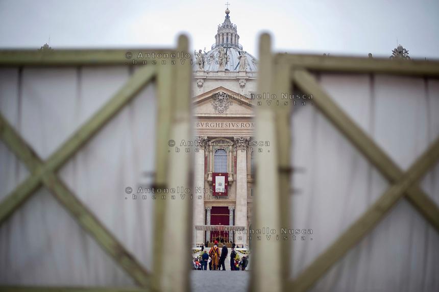 La Basilica di San Pietro. Saint Peter's Basilica