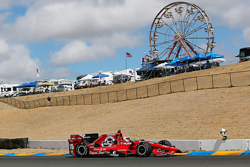 28-30 August, 2015, Sonoma, California USA<br /> Graham Rahal<br /> ©2015, Perry Nelson<br /> LAT Photo USA