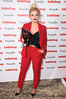 Lucy Fallon at the Inside Soap Awards 2017 held at the Hippodrome, Leicester Square, London, UK. <br /> 06 November  2017<br /> Picture: Steve Vas/Featureflash/SilverHub 0208 004 5359 sales@silverhubmedia.com