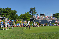 Rory McIlroy (NIR) and Tiger Woods (USA) head down 12 during 1st round of the 100th PGA Championship at Bellerive Country Cllub, St. Louis, Missouri. 8/9/2018.<br /> Picture: Golffile | Ken Murray<br /> <br /> All photo usage must carry mandatory copyright credit (© Golffile | Ken Murray)