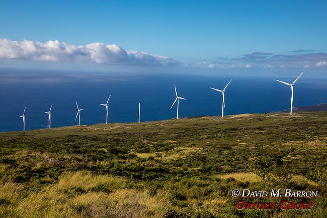Wind Turbines & Maui Coastline