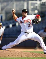 Adam Carr / Peoria Saguaros 2008 Arizona Fall League..Photo by:  Bill Mitchell/Four Seam Images