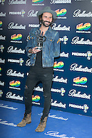 Leiva attend the 40 Principales Awards at Barclaycard Center in Madrid, Spain. December 12, 2014. (ALTERPHOTOS/Carlos Dafonte) /NortePhoto