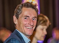 The Hague, The Netherlands, September 13, 2017,  Sportcampus , Davis Cup Netherlands - Chech Republic, Official Dinner, Captain Paul Haarhuis (NED)<br /> Photo: Tennisimages/Henk Koster