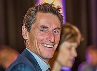 The Hague, The Netherlands, September 13, 2017,  Sportcampus , Davis Cup Netherlands - Chech Republic, Official Dinner, Captain Paul Haarhuis (NED)<br /> Photo: Tennisimages/Henk Koster