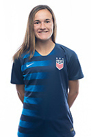 Sarasota, FL - Saturday, October 09, 2018:  Headshot of U-17 USWNT player Jordan Canniff.
