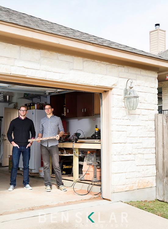 Tom Gerhardt and Dan Provost at Studio Neat in Austin Texas.