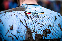 Belgian Cycling mud. <br /> <br /> Men's Elite race<br /> UCI 2020 Cyclocross World Championships<br /> Dübendorf / Switzerland<br /> <br /> ©kramon