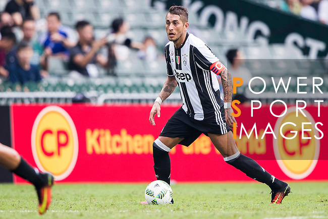 Juventus' player Roberto Pereyra in action during the South China vs Juventus match of the AET International Challenge Cup on 30 July 2016 at Hong Kong Stadium, in Hong Kong, China.  Photo by Marcio Machado / Power Sport Images