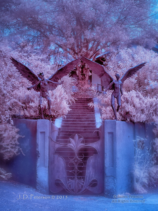 Guardian Angels, Bisbee, Arizona (Infrared)