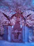 Guardian Angels, Bisbee, Arizona (Infrared)