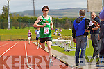 David Kavanagh Boys u-16 1500 at the Kerry community games athlethics finals at an Riocht, Castleisland on Sunday.