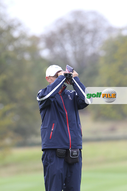 on Thursday, the third practice day at the 2011 Solheim Cup at Killeen Castle, Co. Meath, Ireland...Photo Golffile/Jenny Matthews.(Photo credit should read Jenny Matthews www.golffile.ie)....This Picture has been sent you under the conditions enclosed by:.Newsfile Ltd..The Studio,.Millmount Abbey,.Drogheda,.Co Meath..Ireland..Tel: +353(0)41-9871240.Fax: +353(0)41-9871260.GSM: +353(0)86-2500958.email: pictures@newsfile.ie.www.newsfile.ie.