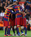 09.01.2016 Camp Nou, Barcelona, Spain. La Liga day 19 march between FC Barcelona and Granada.