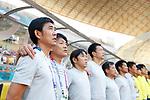 € Hajime Moriyasu (JPN), <br /> AUGUST 19, 2018 - Football / Soccer : <br /> Men's Group D match <br /> between Japan 0-1 Vietnam <br /> at Wibawa Mukti Stadium <br /> during the 2018 Jakarta Palembang Asian Games <br /> in Cikarang, Indonesia. <br /> (Photo by Naoki Morita/AFLO SPORT)