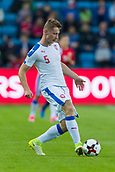 June 10th 2017, Ullevaal Stadion, Oslo, Norway; World Cup 2018 Qualifying football, Norway versus Czech Republic;  Jakub Brabec of Czech Republic in action during the FIFA World Cup qualifying match
