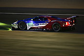June 14 and 15th 2017,  Le Mans, France; Le man 24 hour race qualification sessions at the Circuit de la Sarthe, Le Mans, France;  #69 FORD CHIP GANASSI RACING TEAM USA (USA) FORD GT LMGTE PRO RYAN BRISCOE (USA) RICHARD WESTBROOK (GBR) SCOTT DIXON (NZL)