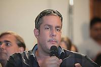 SAO PAULO, 27 DE MARÇO DE 2012. ENTREVISTA COLETIVA PROGRAMA PANICO .  O diretor Alan Rapp participa da entrevista coletiva do programa Panico na Tv que estreia na TV Band no dia 01 de abril.  . FOTO: ADRIANA SPACA - BRAZIL PHOTO PRESS