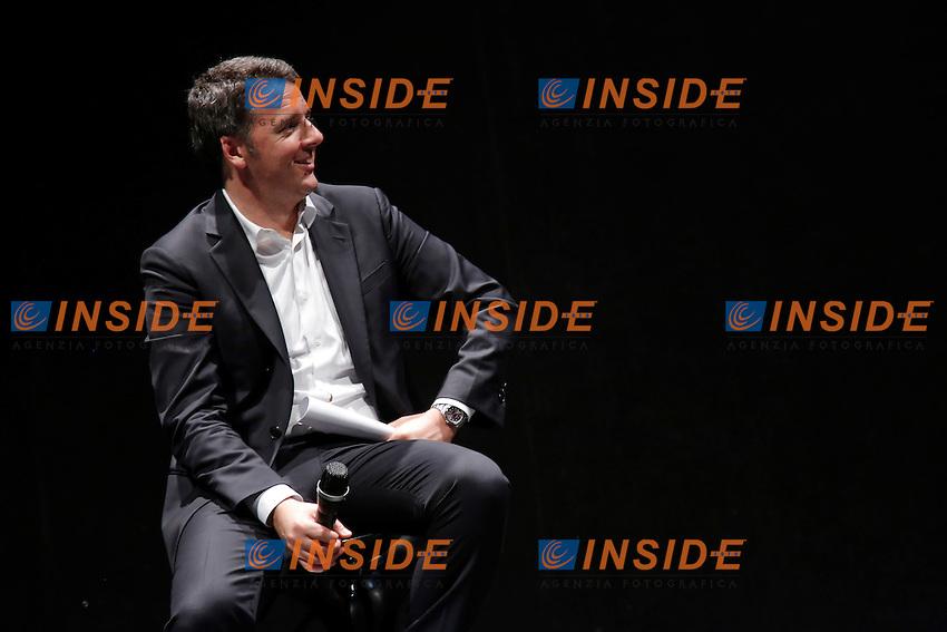 Matteo Renzi<br /> Roma 01-06-2016 Auditorium della Conciliazione. Inziativa elettorale per il candidato sindaco di Roma del Partito Democratico.<br /> Photo Samantha Zucchi Insidefoto
