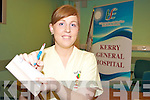 A FIRST FOR KERRY: Marie Reidy who works in the Cashel Ward in KGH has qualified as a nurse prescriber.
