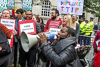 Protests outside Manchester's Tory Conference, 5th Oct 2015