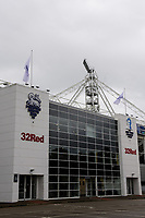 A general view of Deepdale Stadium, home of Preston North End FC<br /> <br /> Photographer Chris Vaughan/CameraSport<br /> <br /> The EFL Sky Bet Championship - Preston North End v Reading - Saturday 15th September 2018 - Deepdale - Preston<br /> <br /> World Copyright &copy; 2018 CameraSport. All rights reserved. 43 Linden Ave. Countesthorpe. Leicester. England. LE8 5PG - Tel: +44 (0) 116 277 4147 - admin@camerasport.com - www.camerasport.com