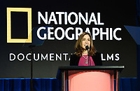 """PASADENA, CA - FEBRUARY 8: Carolyn Bernstein, Executive Vice President, Global Scripted Content and Documentary Films at National Geographic attends the """"Free Solo"""" panel at the 2019 National Geographic portion of the Television Critics Association Winter Press Tour at The Langham Huntington Hotel on February 8, 2019 in Pasadena, California. (Photo by Frank Micelotta/Fox/PictureGroup)"""