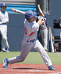 Reno's Hayes Riedeman bats in the NIAA Division I Northern Region Baseball Championship between the Galena Grizzlies and the Reno Huskies played on Saturday, May 14, 2016 at Peccole Park in Reno, Nevada.