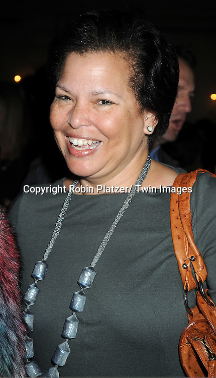 Debra Lee attends the Center for Communications Luncheon honoring Josh Sapan on October 17, 2011 at The Pierre Hotel in New York City.