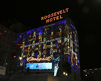 2018 AFI Powered by Women Projected on Roosevelt Hotel