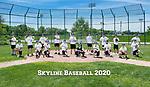 6-1-20 Skyline High School varsity baseball team