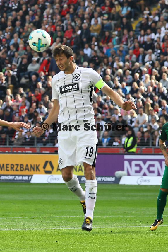 David Abraham (Eintracht Frankfurt) - 16.09.2017: Eintracht Frankfurt vs. FC Augsburg, Commerzbank Arena