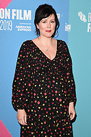 """Alice Lowe<br /> arriving for the """"Eternal Beauty"""" screening as part of the London Film Festival 2019 at the NFT South Bank, London<br /> <br /> ©Ash Knotek  D3523 08/10/2019"""