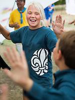 20140805 Vilda-l&auml;ger p&aring; Kragen&auml;s. Foto f&ouml;r Scoutshop.se<br /> scout, scouter, klapplek, dag, l&auml;gerplats, roligt, glada, ler, kul