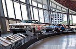 The new NASCAR Hall OF Fame Museum in uptown Charlotte NC. Charlotte really got lucky to get this museum,and will be an assett to the city of Charlotte for years to come.