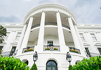 South Portico of the White House by Art Harman