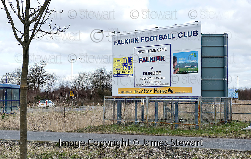 ::  THE HELIX :: THE NEW HELIX POSTER AT THE FALKIRK STADIUM ::.