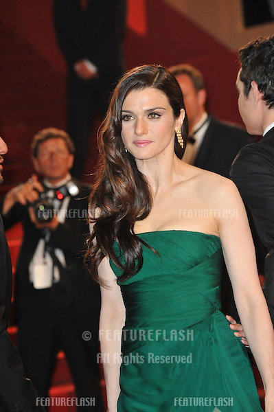 "Rachel Weisz  at premiere for her new movie ""Agora"" in competition at the 62nd Festival de Cannes..May 17, 2009  Cannes, France.Picture: Paul Smith / Featureflash"