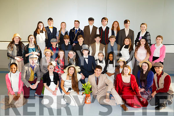 At the Mercy Mounthawk Secondary School annual musical Dress Rehearsal My Fair Lady,