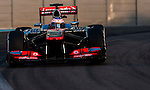 Jenson Button of Great Britain and Vodafone McLaren Mercedes drives during the Abu Dhabi Formula One Grand Prix 2013 at the Yas Marina Circuit on November 3, 2013 in Abu Dhabi, United Arab Emirates. Photo by Victor Fraile / The Power of Sport Images