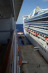 Two cruise ships docked at Cozumel, Mexico