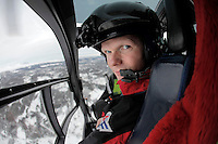 Åge Kirkestuen, redningsmann. <br />