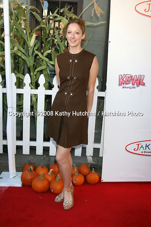 Judy Greer arriving to the Camp Ronald McDonald Event on the backlot of Universal Studios, in Los Angeles, CA  on.October 26, 2008.©2008 Kathy Hutchins / Hutchins Photo...                .