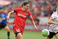 Portland, Oregon - Sunday October 2, 2016: Portland Thorns FC forward Christine Sinclair (12) during a semi final match of the National Women's Soccer League (NWSL) at Providence Park.