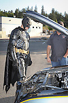 Batman Batmobile E.L.K. Charity Challenge Car Race at Yosemite High School 5.20.15 Oakhurst California Madera County Photos by Joelle Leder Photography Studio