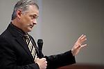 Nevada Sen. James Settelmeyer, R-Minden, speaks on the Senate floor at the Legislative Building in Carson City, Nev., on Thursday, April 16, 2015.<br /> Photo by Cathleen Allison