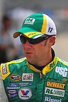 Jul. 3, 2008; Daytona Beach, FL, USA; Nascar Sprint Cup Series driver Matt Kenseth during practice for the Coke Zero 400 at Daytona International Speedway. Mandatory Credit: Mark J. Rebilas-
