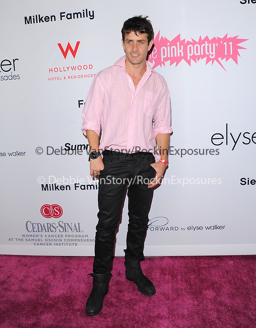 Joey McIntyre attends The 7th Annual Pink Party held at Drai's Hollywood in Hollywood, California on September 10,2011                                                                               © 2011 DVS / Hollywood Press Agency